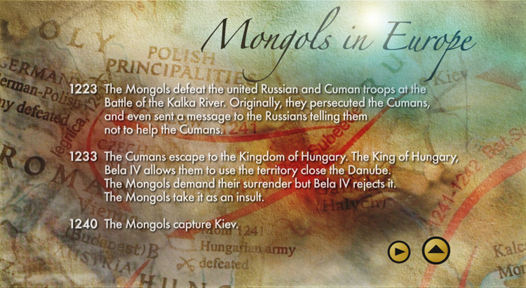 Mongols in Europe 1